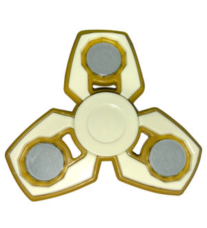 Fidget Spinner New Stylish Shape 3 Different Style Arms 30-60 Secs Spinning Time;Colour/Design May Vary