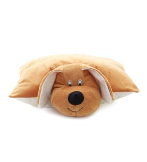 DealBindaas Teddy Pillow Stuff Toy FOLDING CUSHION Dog