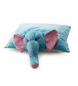 DealBindaas Teddy Pillow Stuff Toy FOLDING CUSHION Elephant