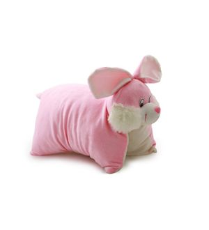 DealBindaas Teddy Pillow Stuff Toy FOLDING CUSHION Rabbit