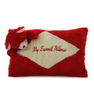 DealBindaas Cute Cozy Stuffed Pillow Teddy ROYAL PILLOW