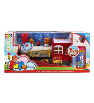 DealBindaas Dream Bubble Train Engine with Light N Music Toy Gift for Children Kids