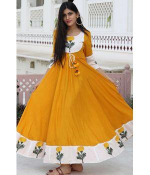 Poppy Mustard Dress