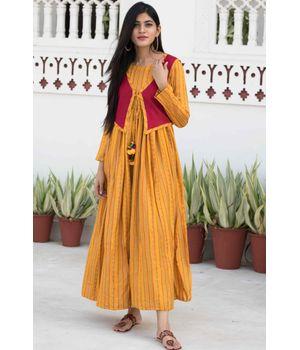 Jacket Maxi Dress