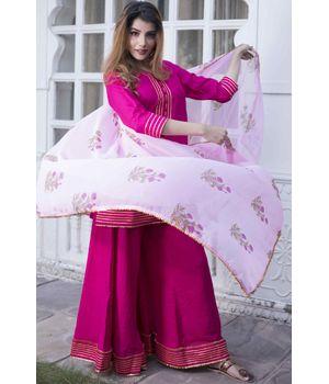 Pink Gotta Suit Set