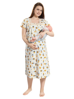 f7518195c14 Buy Maternity Nighty Online Shopping India