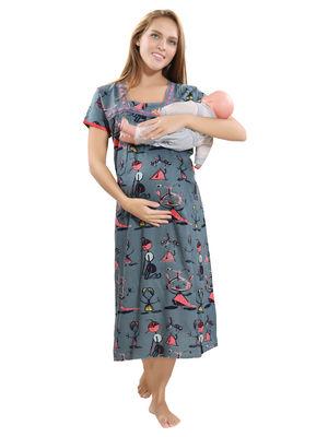 9352e84931c Buy Maternity Nighty Online Shopping India