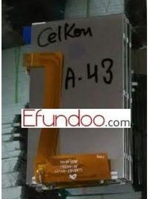 Lcd Display Screen For Celkon A43