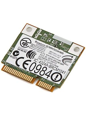 DELL DW1520 BCM4322 Wireless AGN Half Mini PCI-E Broadcom BCM94322HMS WiFi  Card 802 11a/b/g/n 300 Mbps