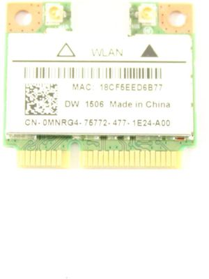 Dell Latitude E5540 MiniPCI Express MNRG4 WLAN WiFi 802 11n Wireless Card  DW1506