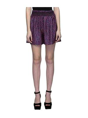 Multicolor Elasticated Smoking  Shorts
