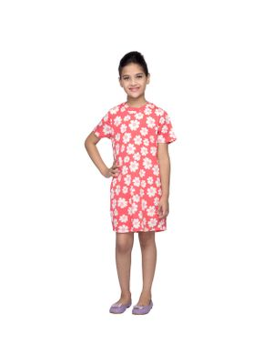 Girls Floral Shift Dress