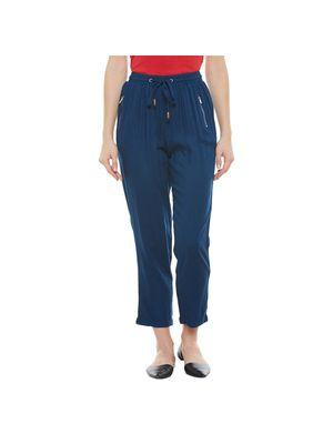 Blue Elasticated Pants