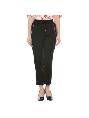 Black Elasticated Pants