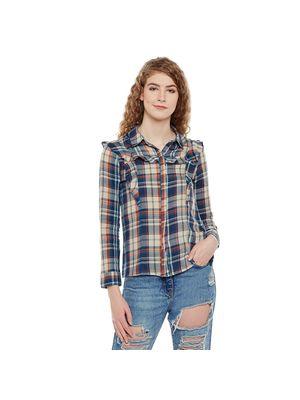 Multicolor Checkered Shirt