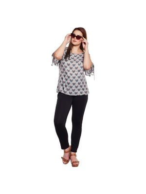 Printed Plus Size Top