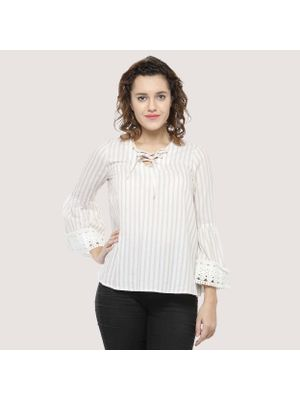 Off-White striped Top