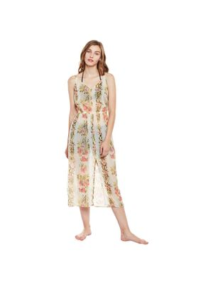 Floral Beachwear Cover-up