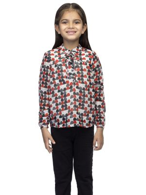 Girls Top With Lining