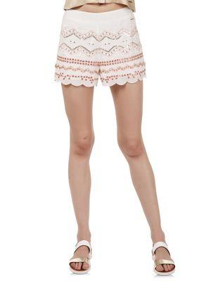 Women Embellished Shorts