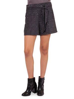 Women Grey Shorts