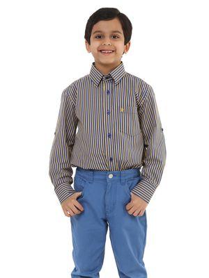 Boys Striped Shirt