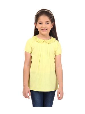 Girl Yellow Top