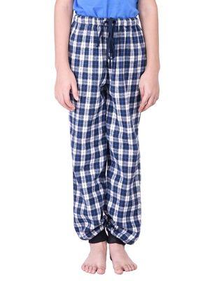 Boys Cotton Check Pyjamas