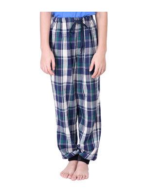 Boys Check Cotton Pyjamas