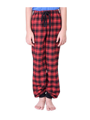 Boys Red Cotton Pyjamas