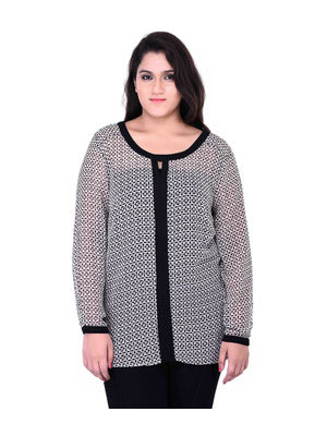 Plus size long top
