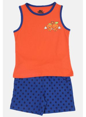 Nuteez Cute C Tank Top & Shorts Set