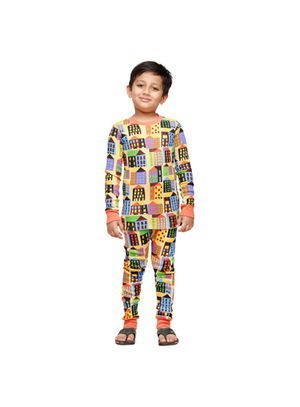 Retro metro-Kids PJ Set