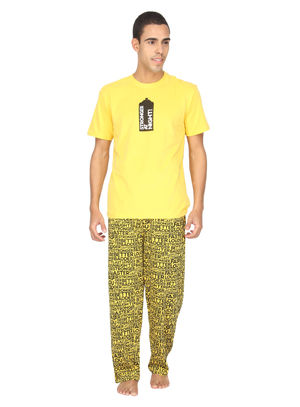 Stronger at night-Men PJ Set