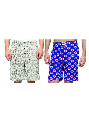 traveller & stars-Men Shorts Combo