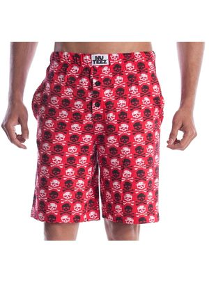 Skull-Men Shorts