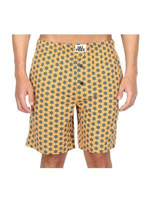 Hexagon-Men Shorts