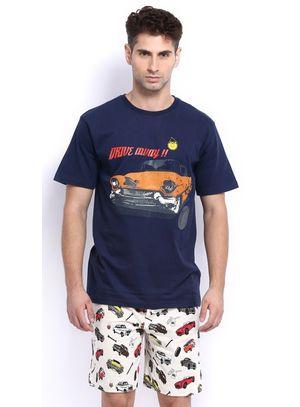 Drive Away-Men Shorts Set