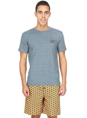 Hexagon-Men Shorts Set