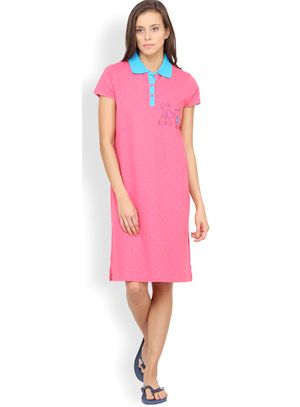 Nuteez Hearts  Nightshirt for women