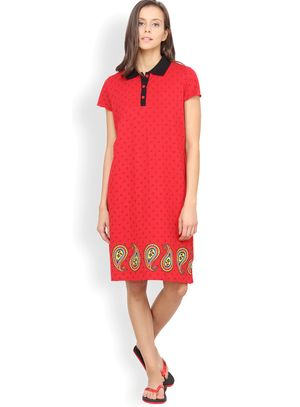Nuteez Paisley  Nightshirt for women