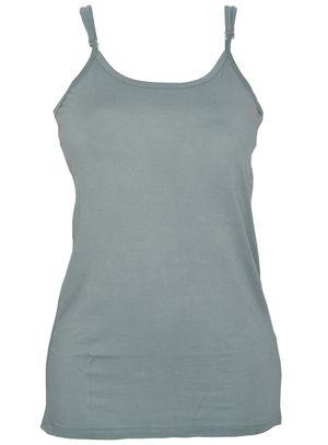 Plain Blue-Women Cami top