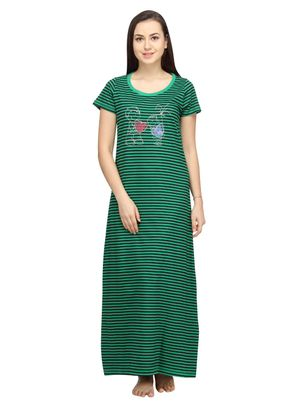 Hearts -Women Night gown