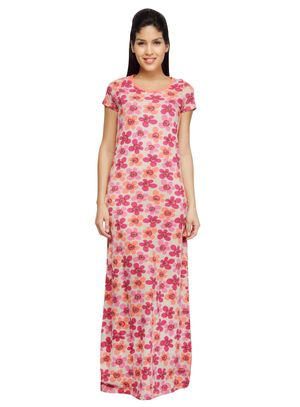 Petals-Women Night gown