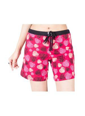 Hearts -Women Shorts