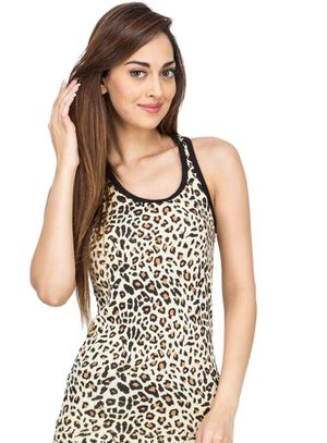 Leopard -Women Sporty Tank