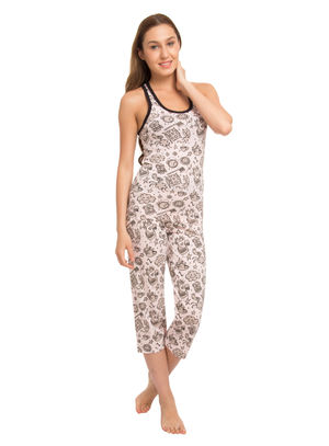 Dreams-Women Sporty Tank Capri Set