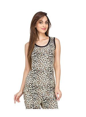 Leopard-Women Tank Top