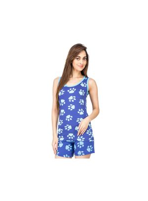 Paws -Women Tank Top Shorts Set