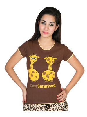 Stay Surprised -Women Tee